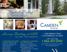 Advertisement for Camden Stockbridge