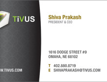 Business Cards for TiVUS