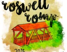 Roswell Romp T-Shirt Design